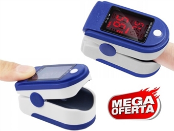 MEGA OFERTA: Oximetro de Dedo Portátil – Medidor de Pulsação e Saturação de Oxigénio no Sangue por 10€. ENVIO IMEDIATO. PORTES INCLUÍDOS.