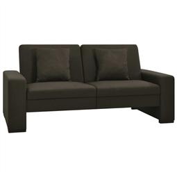 Sofá-cama tecido castanho-escuro por 419.76€ PORTES INCLUÍDOS