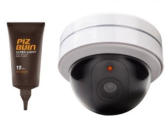 Videovigilância de Dissuasão + OFERTA de Protetor Solar PIZ BUIN por 12€. Vá de Férias em Segurança! ENVIO IMEDIATO. PORTES INCLUIDOS.