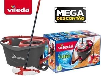 MEGA DESCONTÃO: VILEDA TURBO com Esfregona e Balde com Pedal por 29.90€. ENVIO IMEDIATO. PORTES INCLUIDOS.