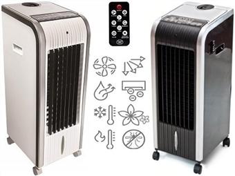 Climatizador Multifunções Portátil com 2 Cores à escolha. A temperatura ideal onde e quando quer. Frio ou Calor sem tubos ou obras por 119€. PORTES INCLUIDOS.