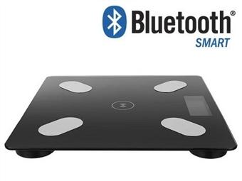 Balança Digital Inteligente com Medição de 8 Parâmetros, Bluetooth e 8 Memórias por 17€. PORTES INCLUÍDOS.
