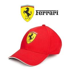 Ferrari® Boné SF Classic Rosso Corsa de Criança por 36.30€ PORTES INCLUÍDOS