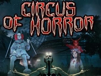 «CIRCUS OF HORROR» em RIO MAIOR: O Lado Negro do Circo desde 10€. O circo morreu e agora será desenterrado! Sucesso em Espanha, Alemanha e Itália! VER VÍDEO.