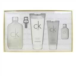 Conjunto de Perfume Unissexo CK One Calvin Klein (4 pcs) por 69.96€ PORTES INCLUÍDOS