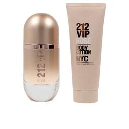 Conjunto de Perfume Mulher 212 VIP Rosé Carolina Herrera (2 pcs) por 98.34€ PORTES INCLUÍDOS