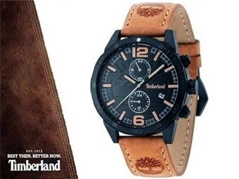 Relógio de Pulso TIMBERLAND 15256JSB02 por 59€. O presente ideal para quem gosta da Natureza. PORTES INCLUÍDOS.