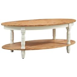 Mesa de centro 102x62,5x42 cm madeira de acácia maciça por 153.12€ PORTES INCLUÍDOS
