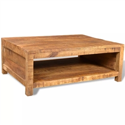 Mesa de centro madeira de mangueira maciça por 382.80€ PORTES INCLUÍDOS