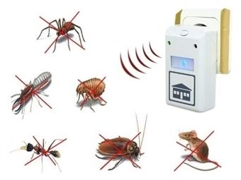 Repelente Elétrico desde 5€. Afasta qualquer inseto ou roedor. PORTES INCLUÍDOS.