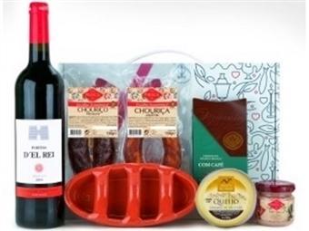 CABAZ EROS da Casa da Prisca: Caixa Sabores de Excelência composta por 7 Deliciosos Produtos por 25€. PORTES INCLUÍDOS.