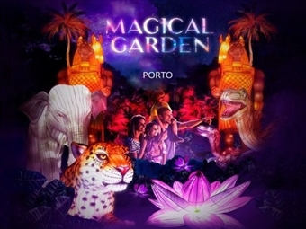 MAGICAL GARDEN PORTO: Espectáculo Nocturno Imersivo no Jardim Botânico do Porto desde 10€. VER VIDEO.