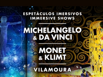 2 Espectáculos Imersivos em Vilamoura: