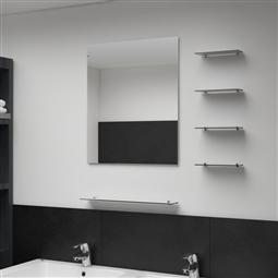 Espelho de parede com 5 prateleiras 50x60 cm prateado por 62.04€ PORTES INCLUÍDOS