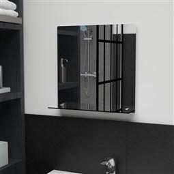 Espelho de parede c/ prateleira vidro temperado 40x40 cm por 35.64€ PORTES INCLUÍDOS