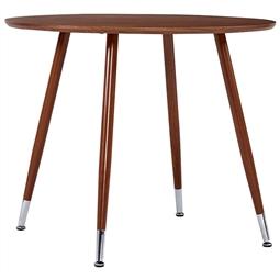 Mesa de jantar 90x73,5 cm MDF castanho por 160.38€ PORTES INCLUÍDOS