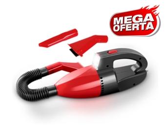 MEGA OFERTA: Aspirador Portátil com Luz, Acessórios e Conexão ao Isqueiro do Carro por 12€. PORTES INCLUIDOS.