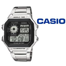 Relógio Casio® AE-1200WHD-1AVEF por 58.74€ PORTES INCLUÍDOS
