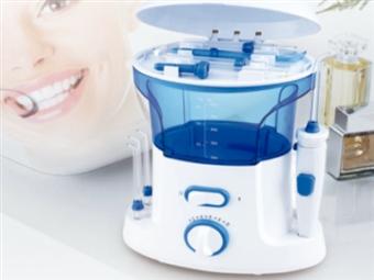 Irrigador Dental Elétrico com 10 Níveis de Pressão e 7 Bocais para uma Higiene Oral Completa por 42€. PORTES INCLUÍDOS.