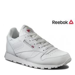 Reebok® Sapatilhas Júnior Classic Leather White | Tamanho 33 por 41.58€ PORTES INCLUÍDOS