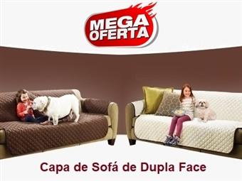 MEGA OFERTA: Capa de Sofá Dupla Face (Castanho e Bege) desde 15€. Ideal para quem tem Crianças e ou Animais. ENVIO IMEDIATO. PORTES INCLUIDOS.