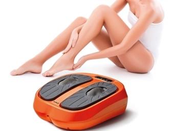 Massajador VIBRAfeet de Pernas e Pés com Comando, 3 Programas e 15 Níveis de Intensidade por 92€. VER VIDEO. PORTES INCLUÍDOS.