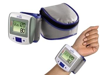 Medidor de Tensão Arterial de Pulso com Bolsa de Transporte e Pilhas por 23€. ENVIO IMEDIATO. PORTES INCLUIDOS.