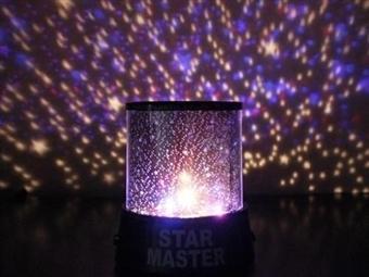 Projetor de Estrelas e Luzes desde 9€. Luz de noite ideal para o quarto das Crianças. PORTES INCLUÍDOS.