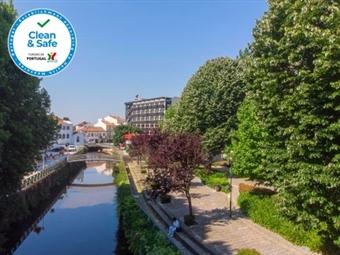 Aqua Hotel 4*: Estadia em Ovar com Pequeno-almoço, Jantar e VIP no Quarto por 60€. Um refúgio com oferta cultural e de lazer!