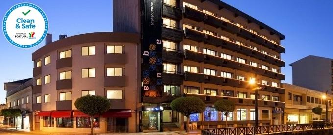 Aqua Hotel 4*: Estadia em Ovar com Pequeno-almoço, Jantar e VIP no Quarto. Um refúgio com oferta cultural e de lazer!