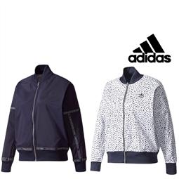 Adidas® Casaco Reversível Woman Azul / Branco - BR9508 - M por 44.09€ PORTES INCLUÍDOS
