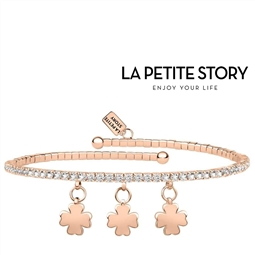 La Petit Story® Pulseira - LPS05AQC12 - Com Caixa e Saco Oferta por 29.70€ PORTES INCLUÍDOS