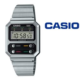 NOVIDADE - Relógio Casio® A100WE 1A Vintage Series por 60.06€ PORTES INCLUÍDOS