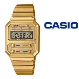 NOVIDADE - Relógio Casio® A100WEG 9A Vintage Series por 78.54€ PORTES INCLUÍDOS