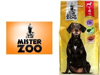Ração Seca para Cães Adultos Médios e Grandes – Saco Mister Zoo de 4 Kg por 9.50€. Rico em Ômega 6. Excelente Qualidade Nutricional da Carne. PORTES INCLUÍDOS.