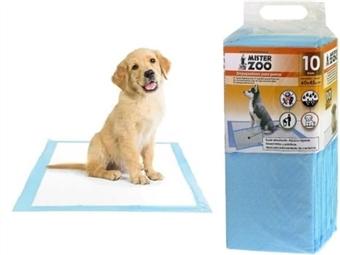 10 ou 20 Tapetes Higiênicos Absorventes para Cães com 3 Medidas à escolha desde 5€. PORTES INCLUÍDOS.
