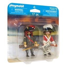 Playset Pirate and Soldier Playmobil 70273 (17 pcs) por 16.50€ PORTES INCLUÍDOS
