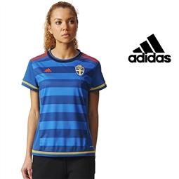 Adidas® Camisola Oficial Suécia Tecnologia Climacool® - M por 25.61€ PORTES INCLUÍDOS