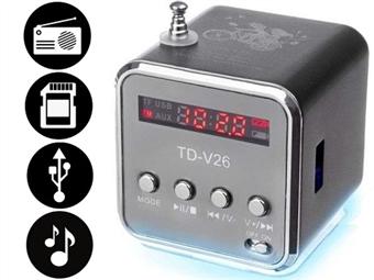 Rádio Digital de Bolso Multifunções desde 10€. PORTES INCLUÍDOS.