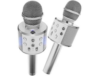 Microfone Bluetooth com Coluna desde 10€. Ideal para Karaoke. PORTES INCLUÍDOS.