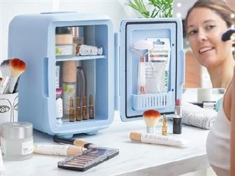 3 em 1: Refrigerador, Aquecedor e Guarda-Cosméticos por 62€. VER VIDEO. PORTES INCLUIDOS.
