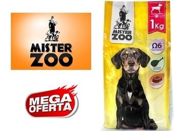 Ração Seca para Cães Adultos – Saco Mister Zoo de 1 ou 2 Kg desde 4€. Rico em Ômega 6. Excelente Qualidade Nutricional da Carne. PORTES INCLUÍDOS.