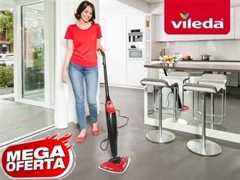 MEGA OFERTA: VILEDA Steam = Limpeza a Vapor. Higieniza os pavimentos e carpetes eliminando 99,9% das bactérias por 73€. PORTES INCLUIDOS.