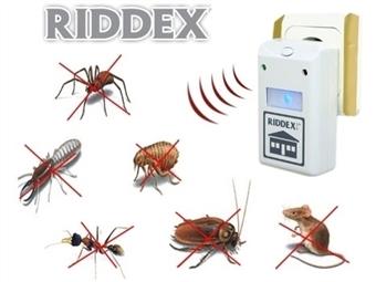 Repelente Elétrico RIDDEX desde 8€. Afasta qualquer inseto ou roedor. PORTES INCLUÍDOS.