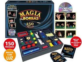 MAGIA BORRAS INFANTIL de 150 TRUQUES + DVD: Seja o Rei da Magia com Truques Espectaculares por 29€. PORTES INCLUÍDOS. ENVIO IMEDIATO!