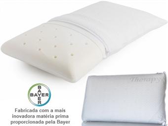 Almofada Viscoelástica Therapy com 8 Medidas à escolha desde 34€. Fabricada com a mais inovadora matéria prima proporcionada pela Bayer. PORTES INCLUIDOS.