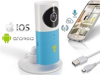 Câmara Wi-Fi de Vigilância com Visão Nocturna, Detecção de Movimento e Comunicação via Smartphone ou Apple por 43€. ENVIO IMEDIATO. PORTES INCLUÍDOS.