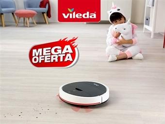 MEGA OFERTA: Robot Aspirador VR102 da VILEDA por 130€. Limpa mais tempo e mais área. VER VIDEO. PORTES INCLUIDOS.