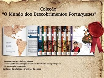 """Fantástica coleção de 8 Livros """"O Mundo dos Descobrimentos"""". Portes Incluídos."""