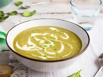 Sopa de Espinafres e Ervilhas. Atreva-se com esta sopa única!